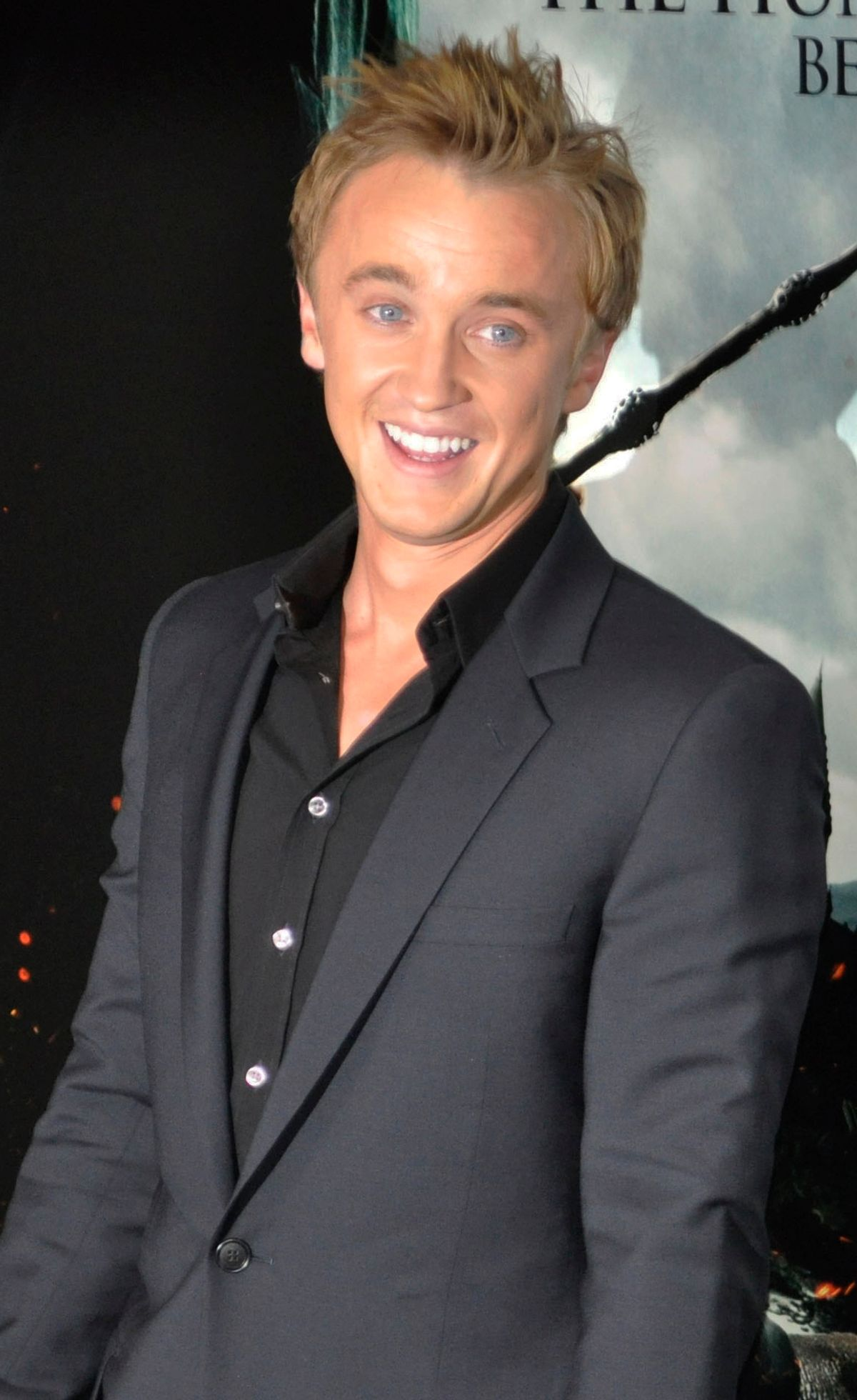 Tom Felton in 2010.