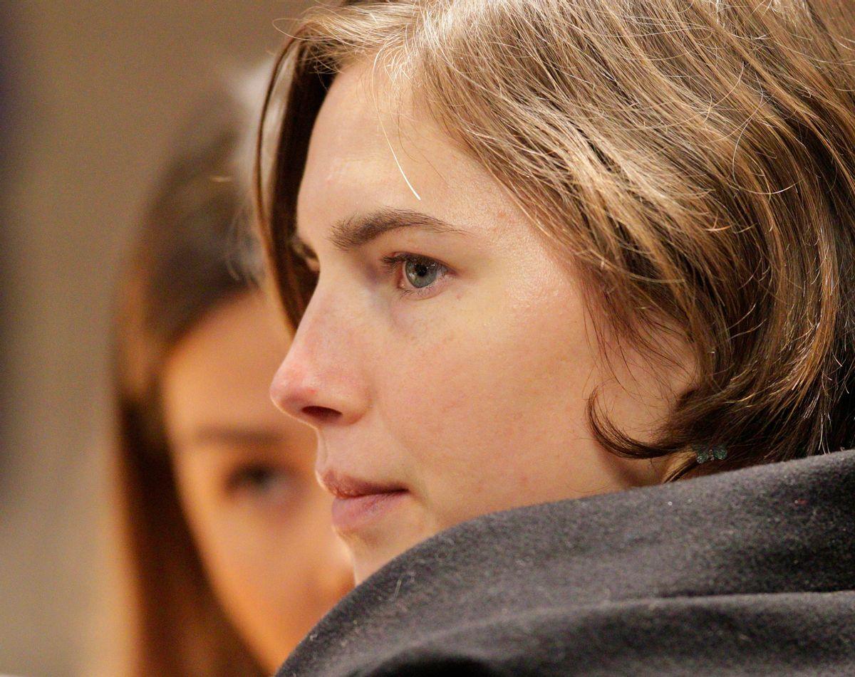 Amanda Knox     (AP/Pier Paolo Cito)