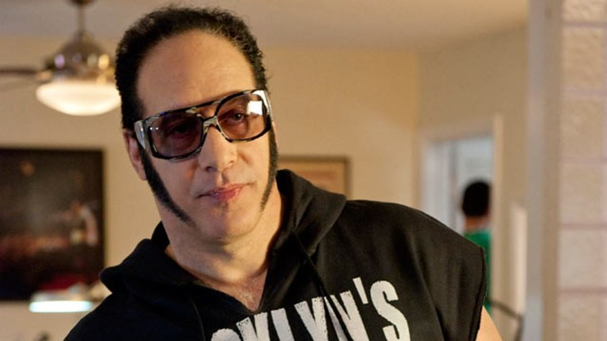 """The Diceman as Andrew Dice Clay on """"Entourage."""""""