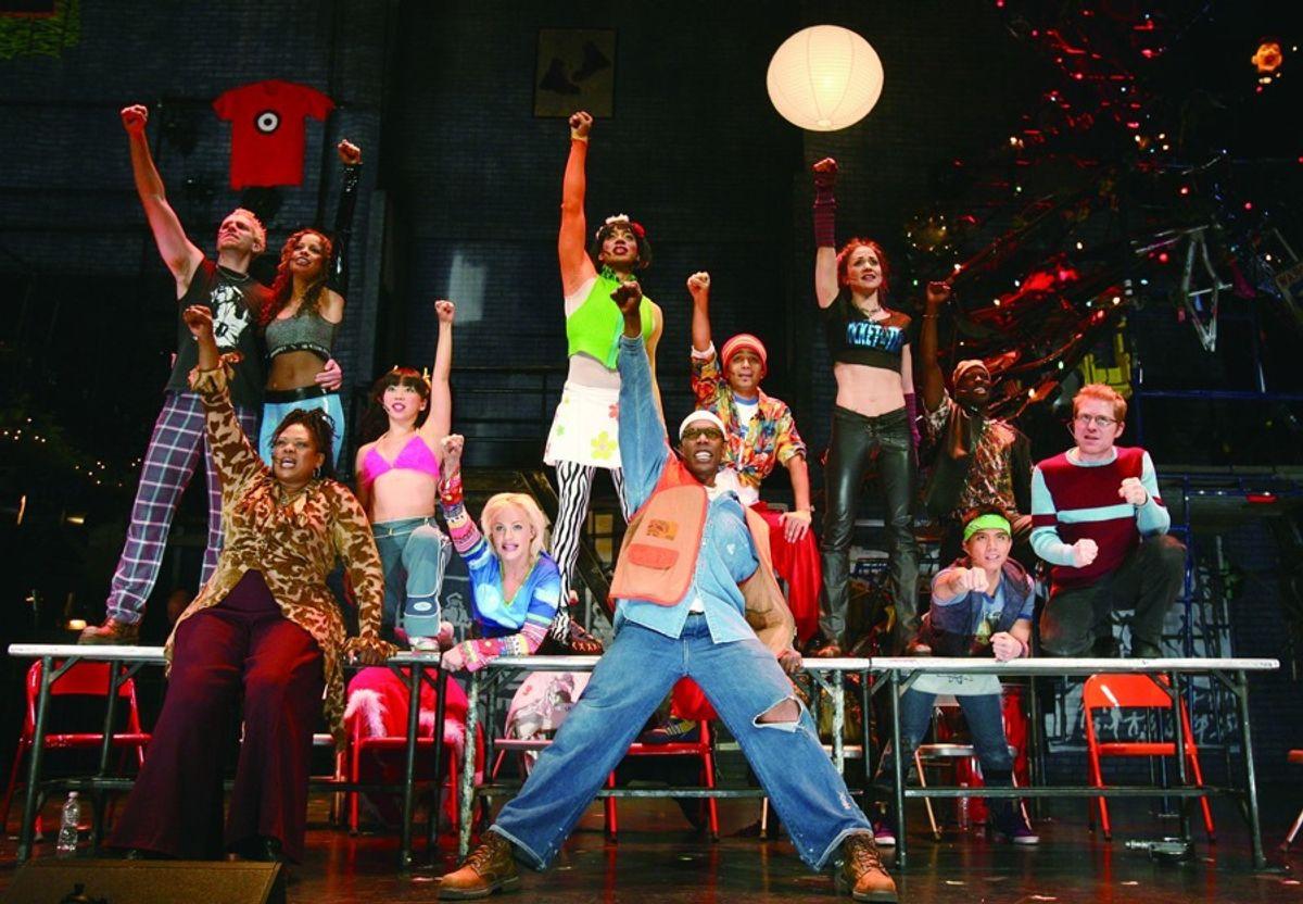 "The original cast of ""Rent,"" 1996."