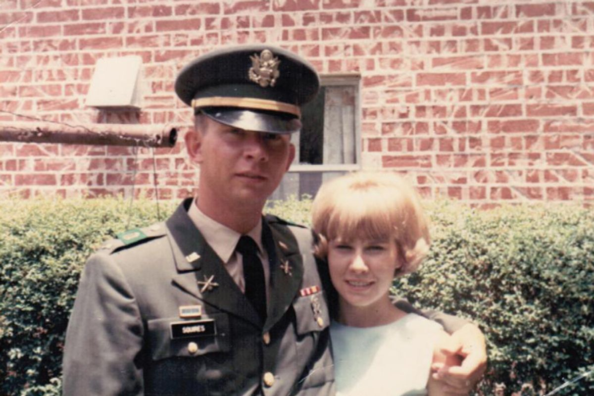 The author's parents in Houston, 1967.