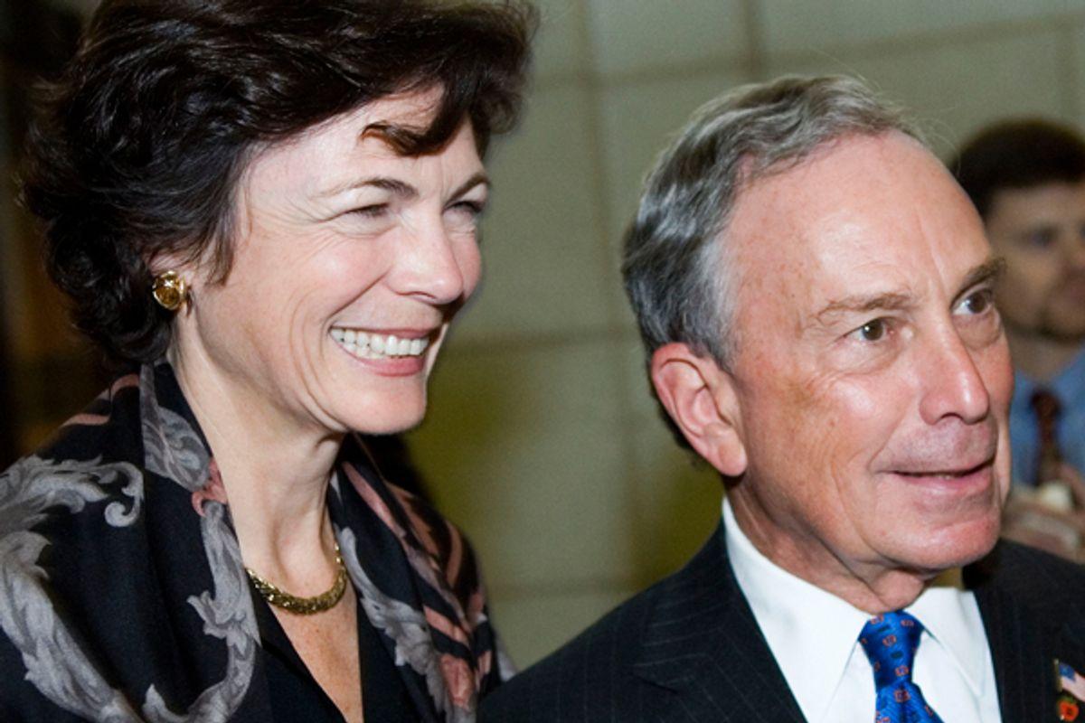 New York's First Couple (Reuters/Joshua Roberts)