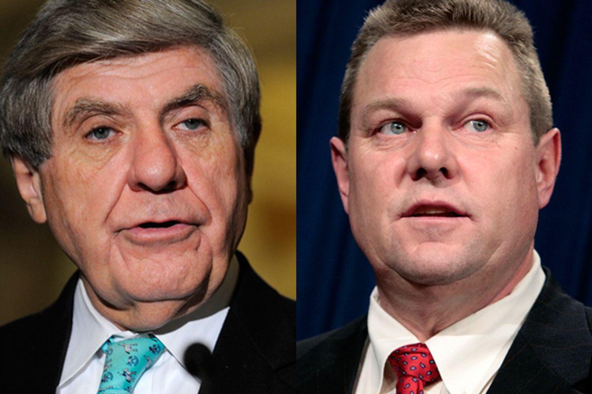 Senators Ben Nelson and Jon Tester   (Reuters)