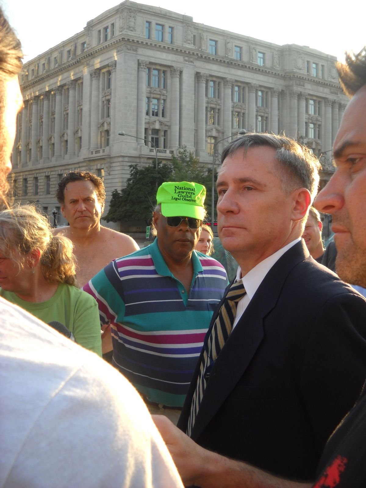 A man named Kevin engages Occupy DC -- and wins  (Jefferson Morley)