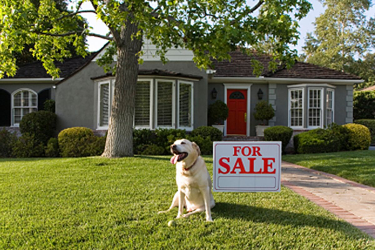 Negative housing equity drives the recession      (iStockphoto/Livingpix)