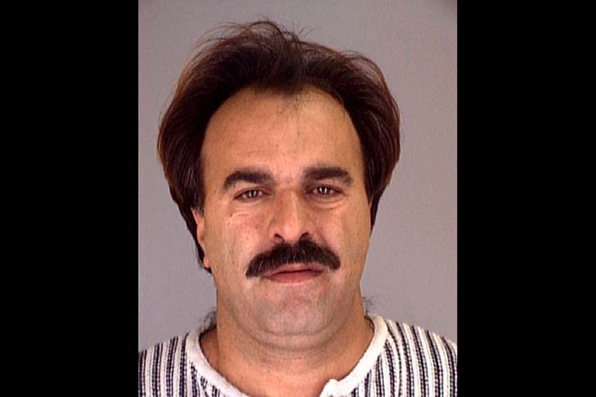 """Manssor Arbabsiar is shown in this 1996 Nueces County, Texas, Sheriff's Office photograph. An unknown informant's allegations against Mansoor Arrabsiar are reminiscent of """"Curveball's"""" bogus allegations in the run-up to the U.S. invasion of Iraq in 2003.       (Ho New / Reuters)"""