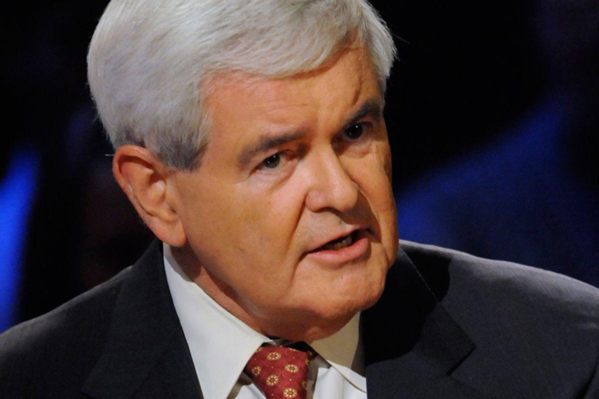 Newt Gingrich    (AP/Melina Mara)