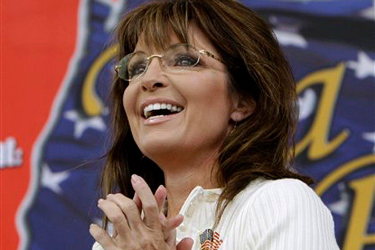 Sarah Palin    (AP/Charlie Neibergall)