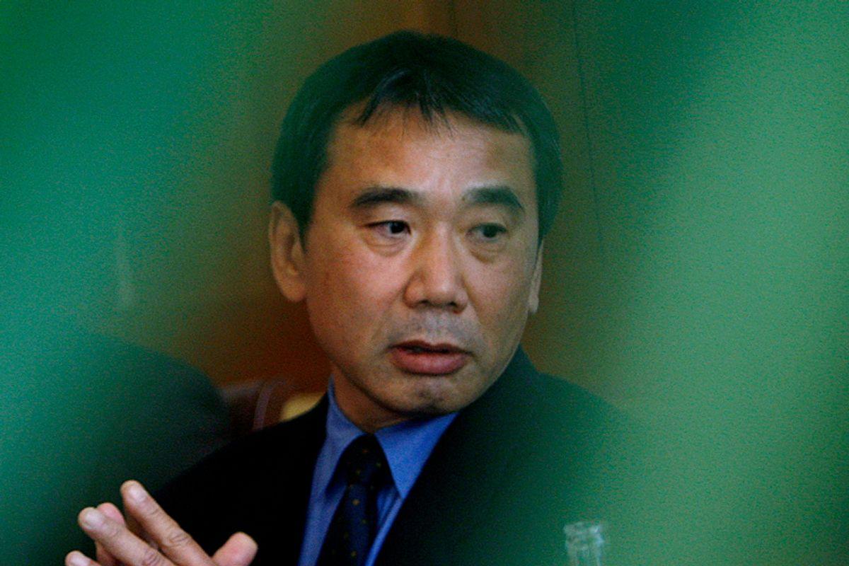 Haruki Murakami     (Petr Josek / Reuters)