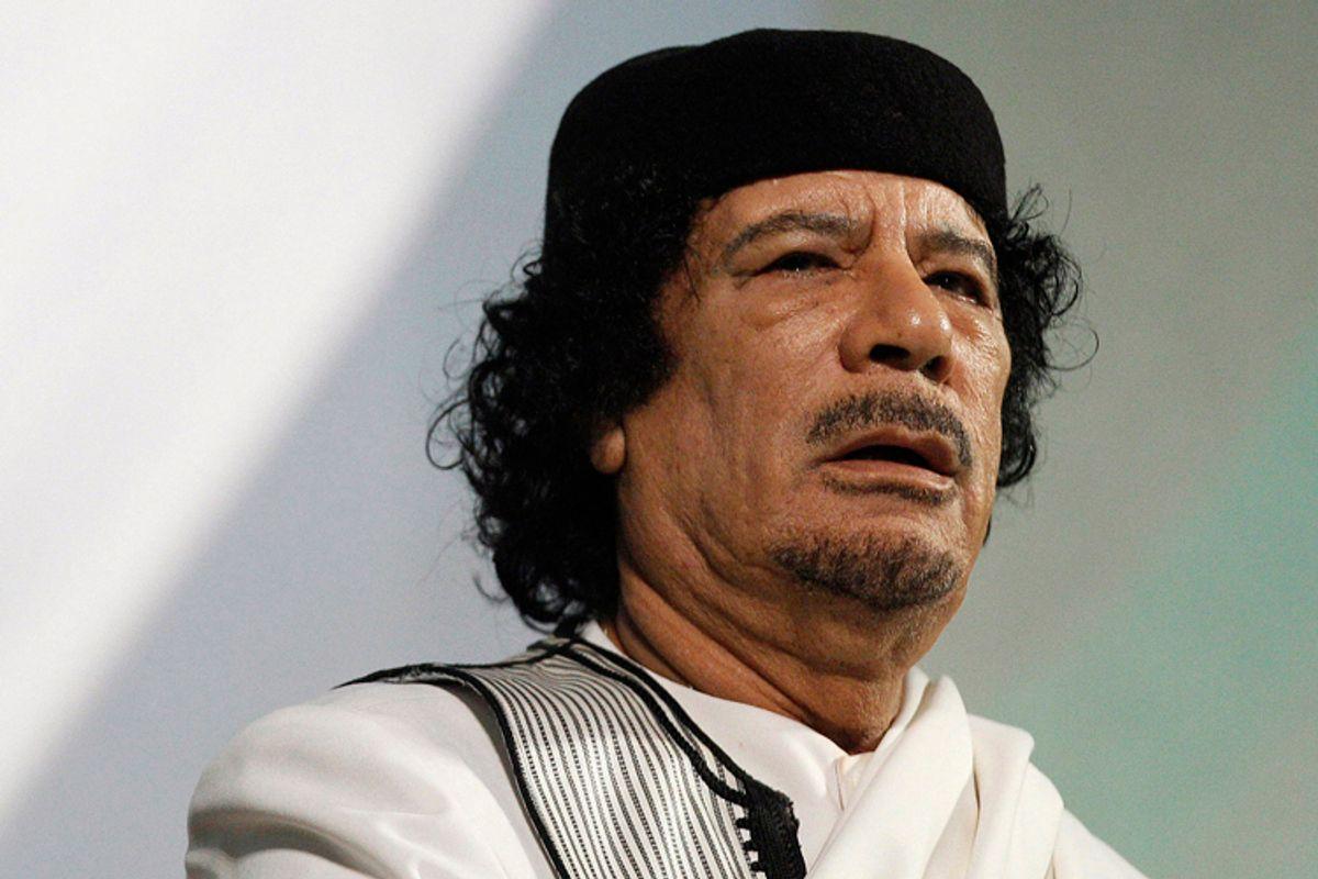 Muammar Gaddafi      (Max Rossi / Reuters)