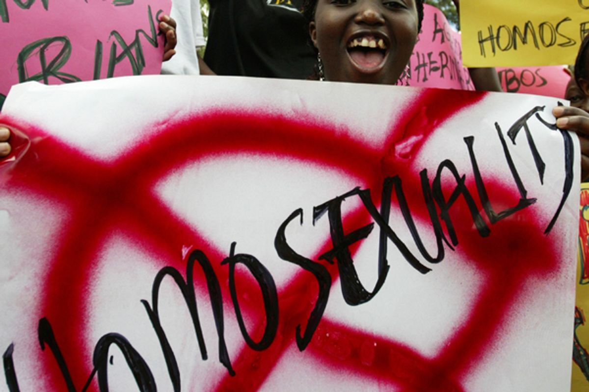 Anti-gay sentiment in Africa is creating a new kind of refugee         (Reuters/James Akena)