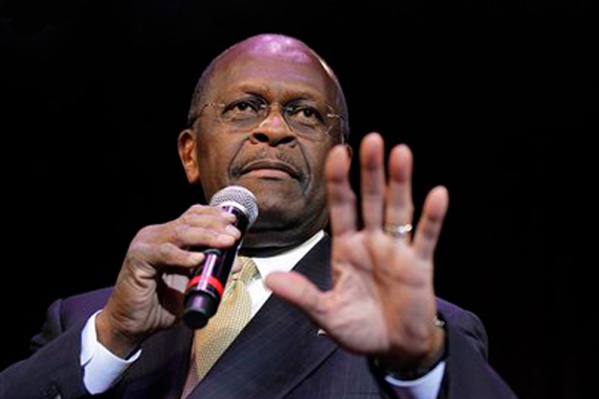 Herman Cain: Pro-life except in the case of ... his family ...