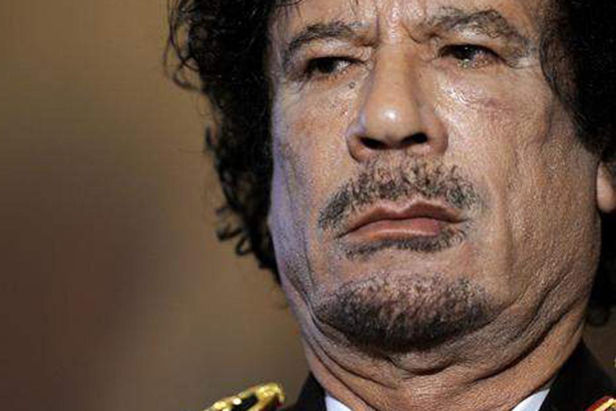Moammar Gadhafi  (AP)