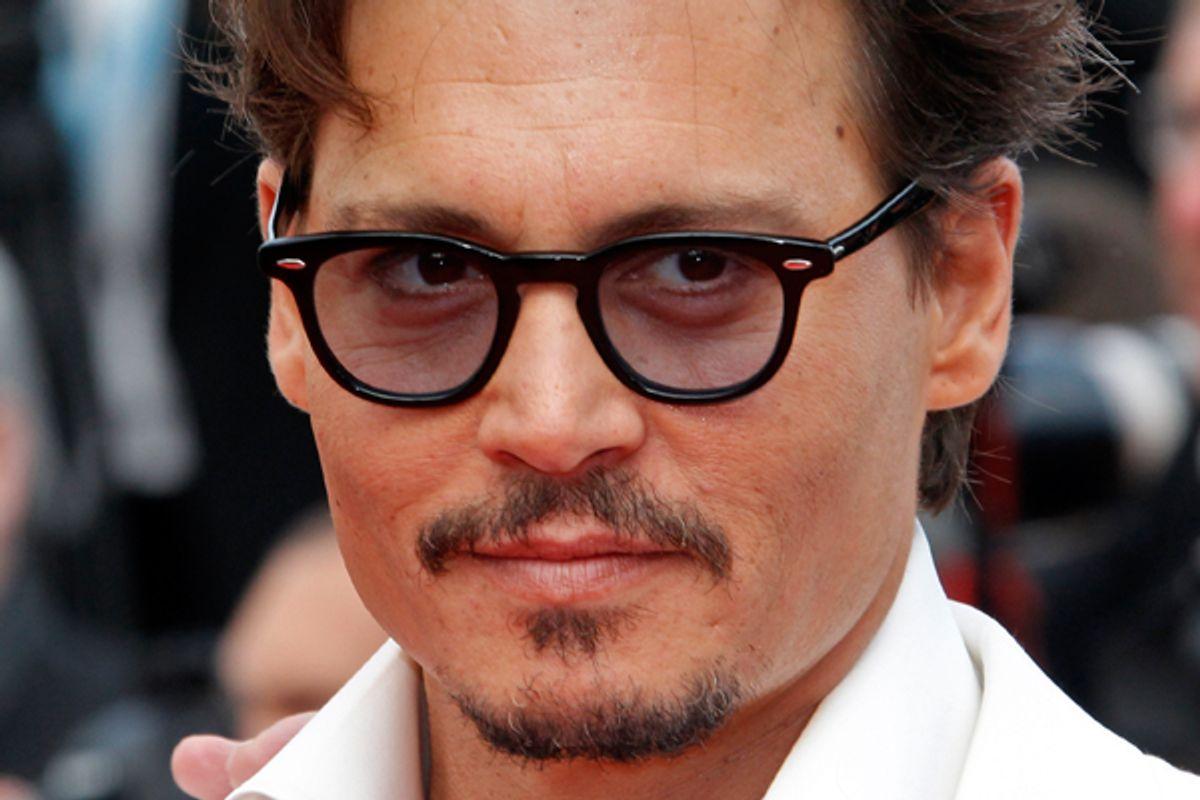 Johnny Depp     (Reuters/Jean-Paul Pelissier)