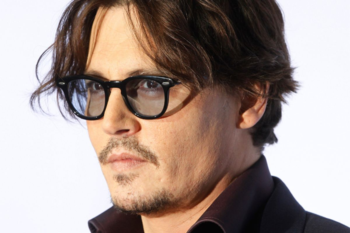 Johnny Depp    (Reuters/Fred Prouser)
