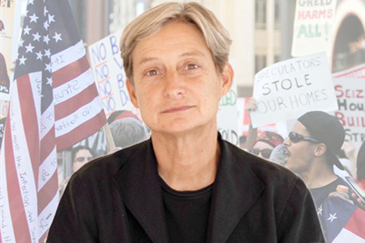 Judith Butler  (Hendrik Speck/<a href='http://www.egs.edu/faculty/judith-butler/photos/'>egs.edu</a>/AP)