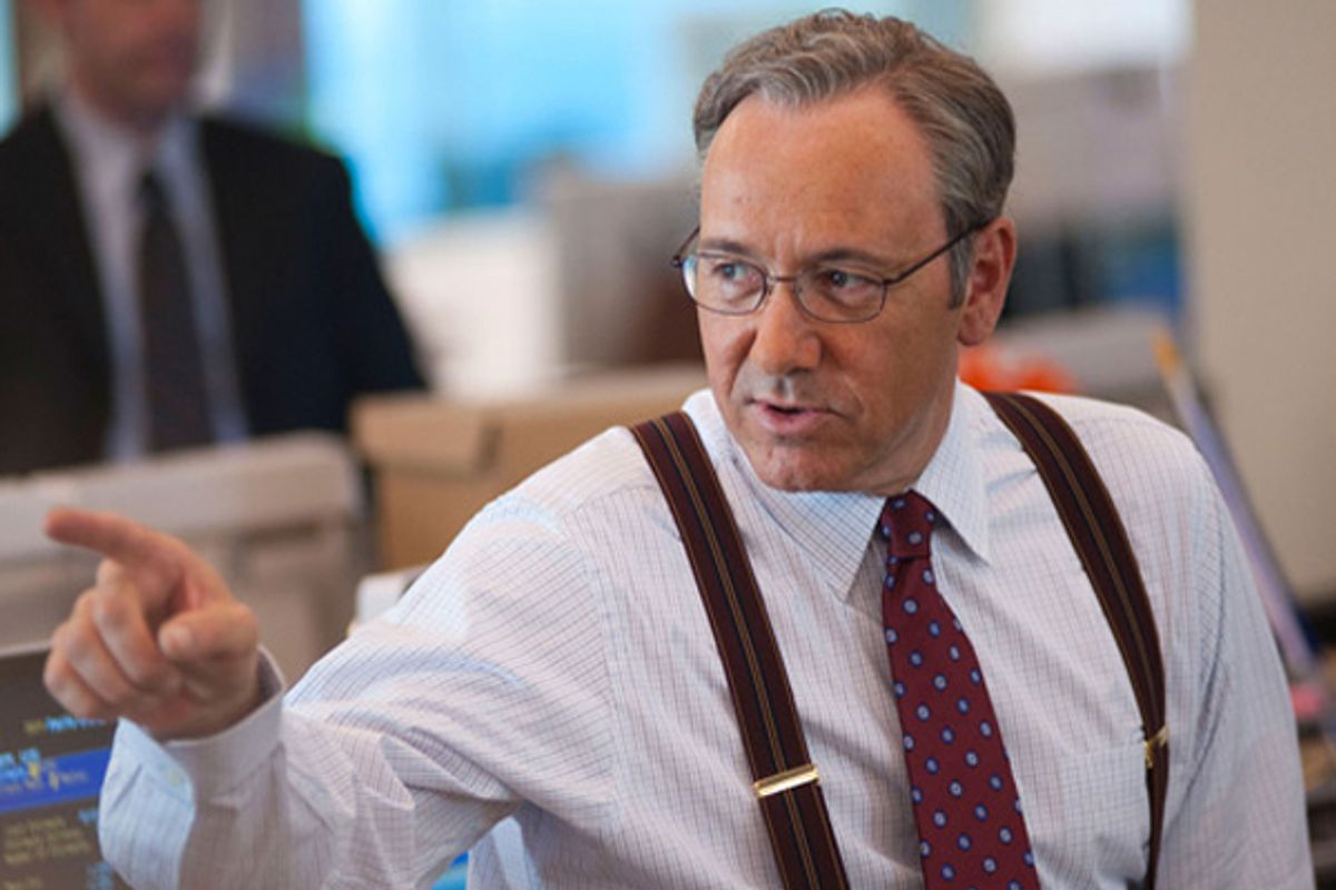"""Kevin Spacey in """"Margin Call"""""""