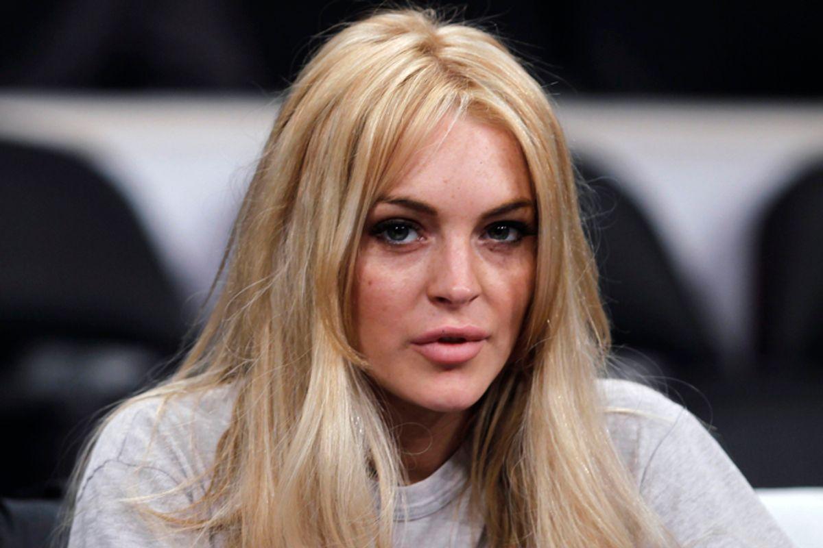 Actress Lindsay Lohan    (Lucy Nicholson / Reuters)