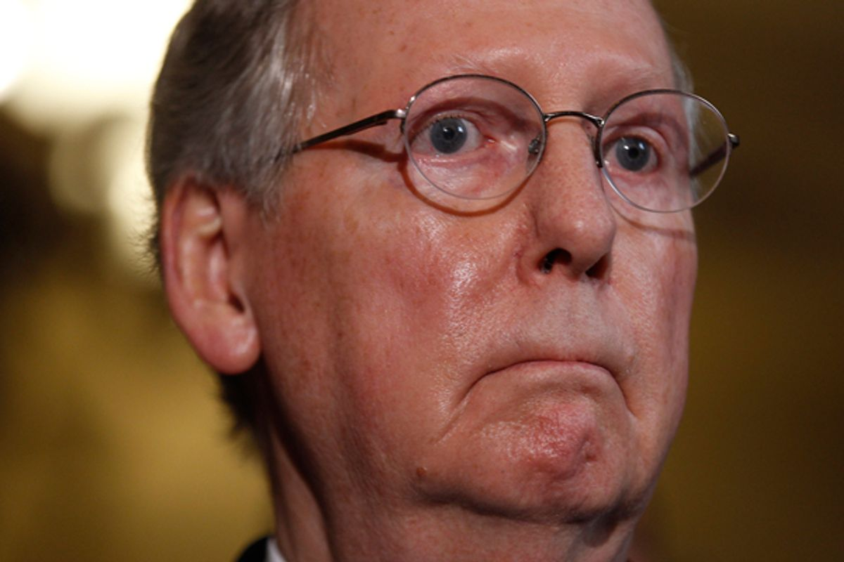 Mitch McConnell      (Reuters/Jason Reed)