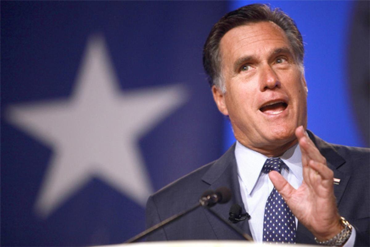 Mitt Romney  (AP/Jacquelyn Martin)