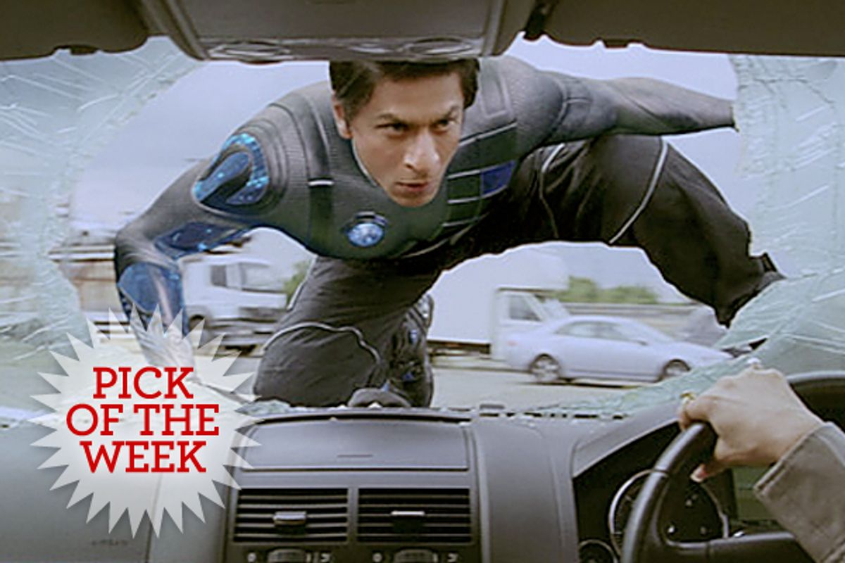 "Shahrukh Khan in ""RA. One"""