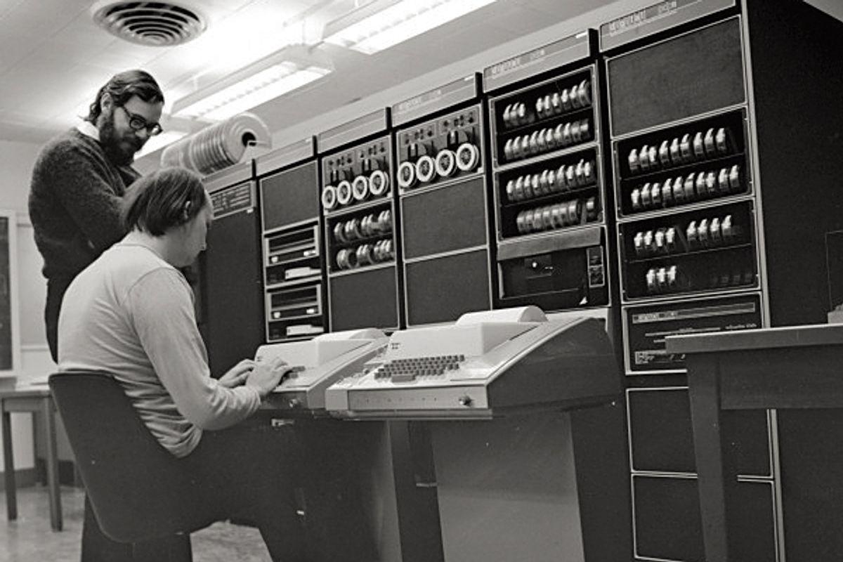 Dennis Ritchie (<a href='http://www.flickr.com/photos/vincentpants/6239875256/in/photostream'>Vincent van Haaff</a>)