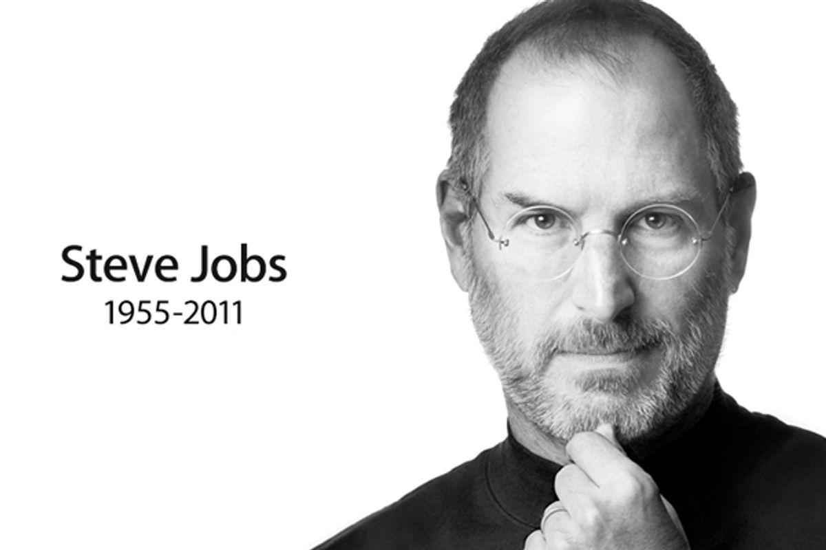 Steve Jobs      (apple.com screen shot)