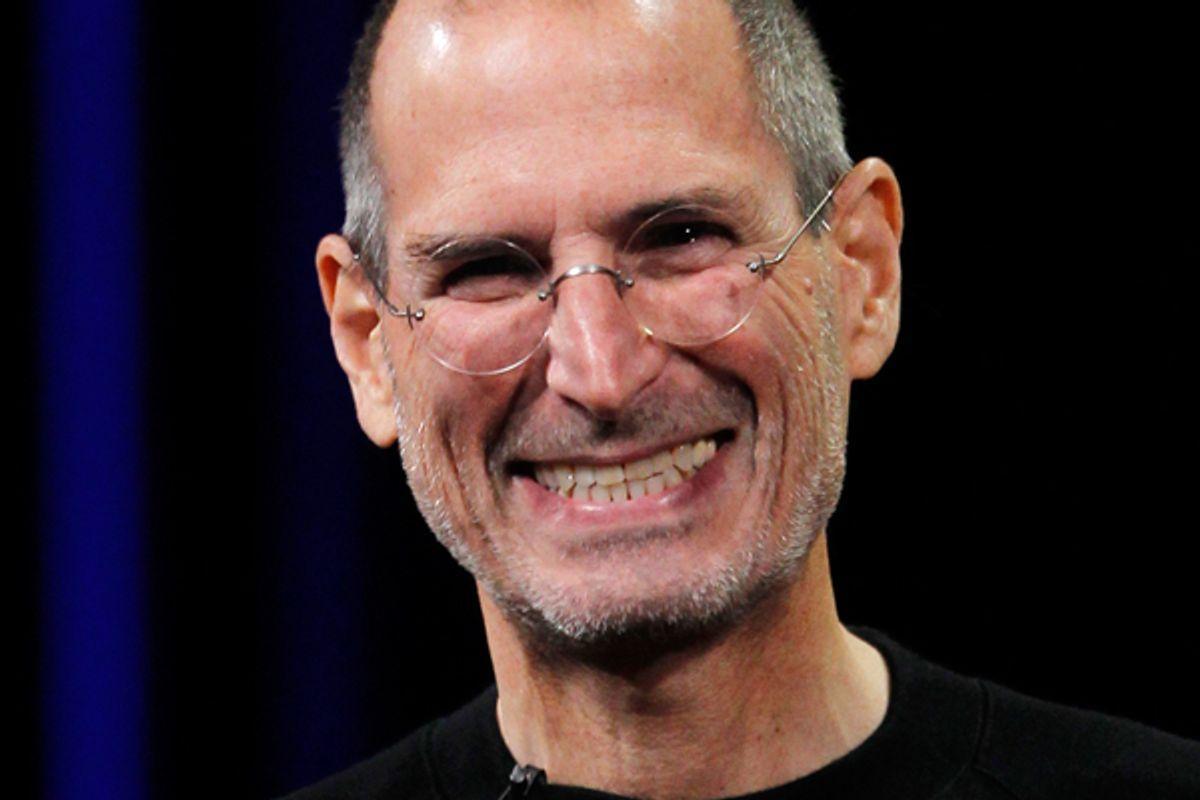 Steve Jobs           (Reuters/Robert Galbraith)