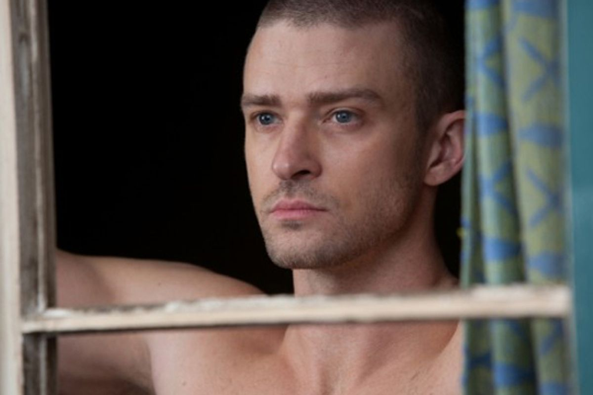 "Justin Timberlake in ""In Time"""
