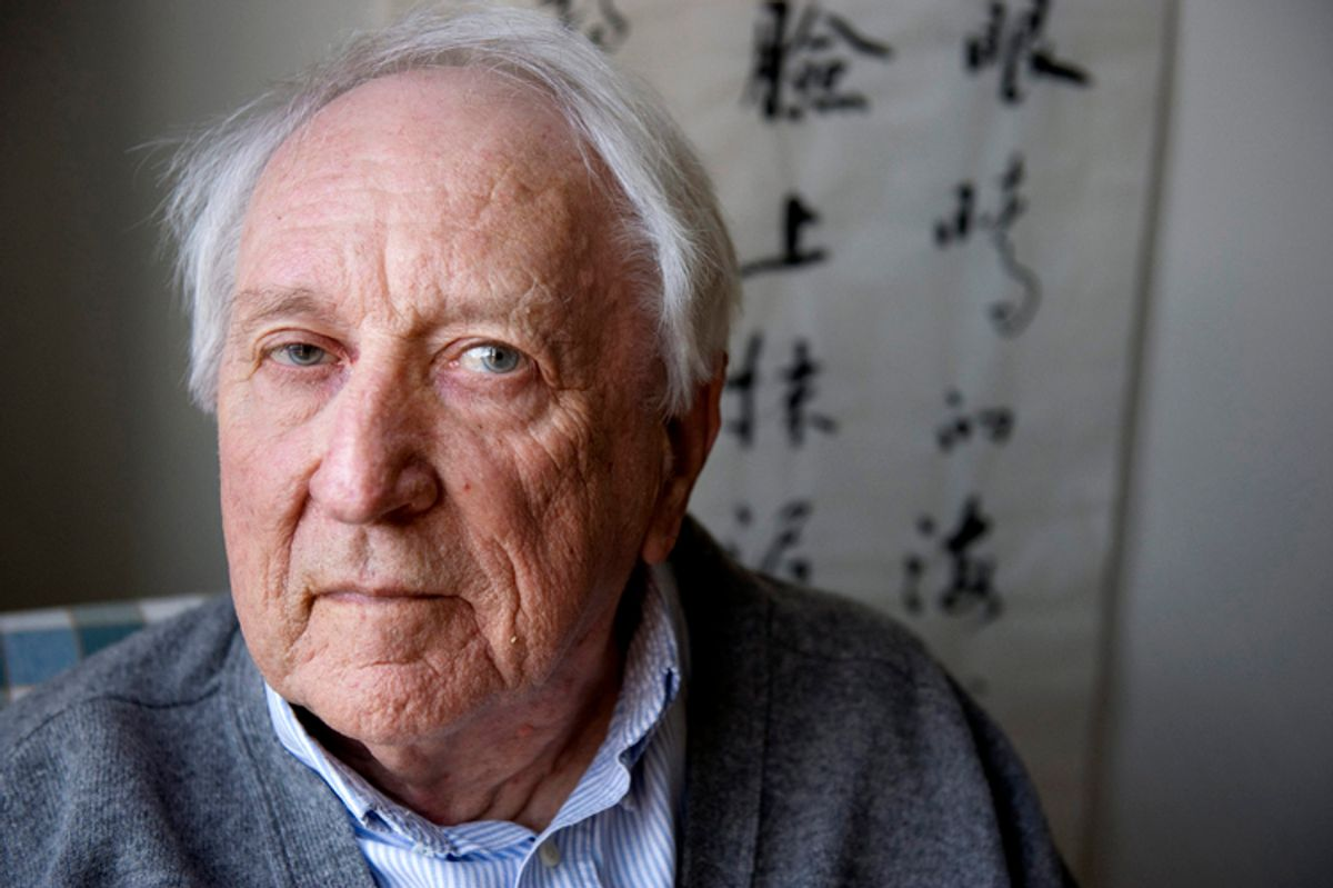 """""""Swedish poet Tomas Transtroemer is pictured at his home in Stockholm.     (Reuters)"""