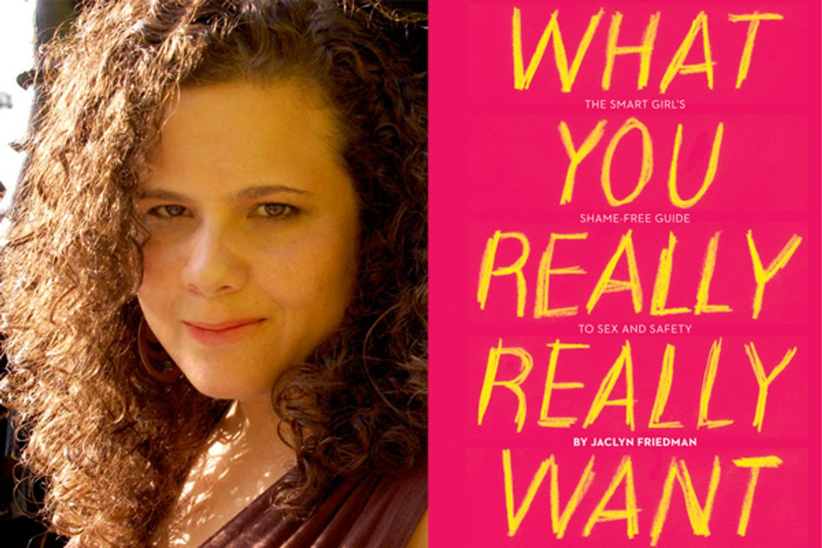 Jaclyn Friedman     (Mandy Lussier)