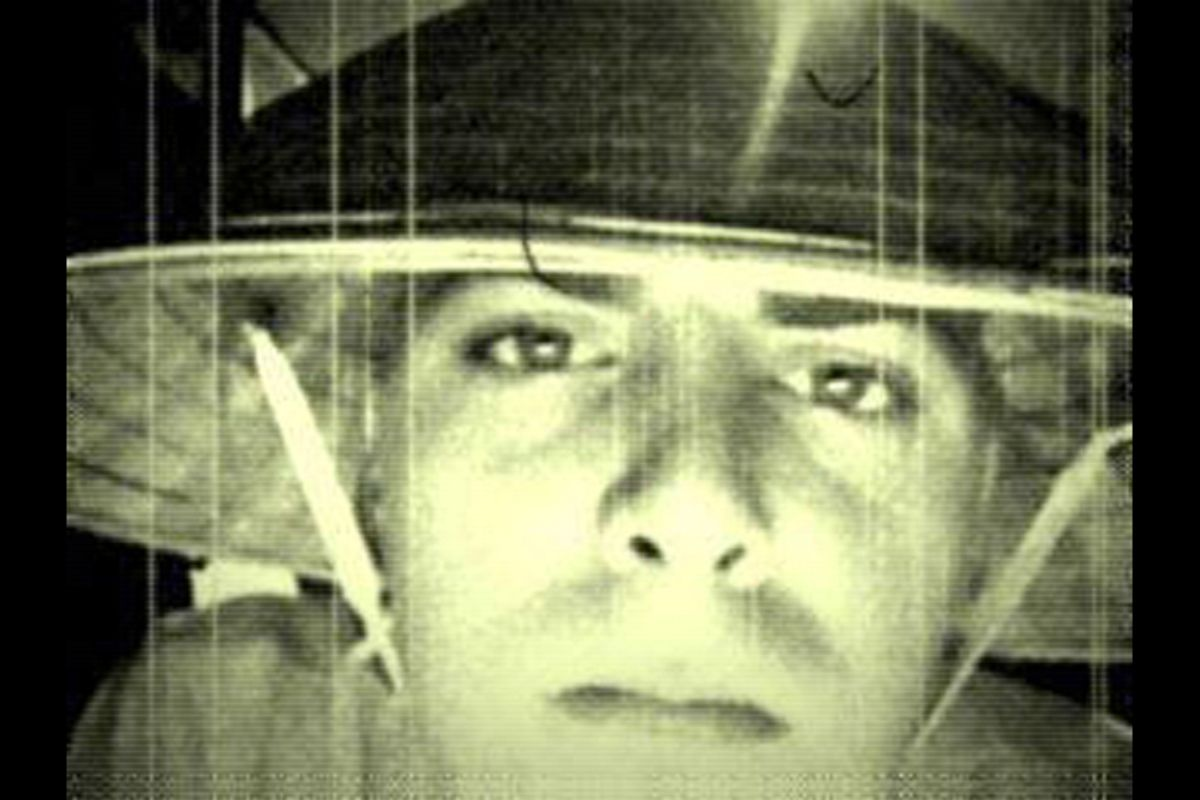 A Facebook photo of a soldier identified by the Army Times as William Millay  (Facebook/<a href='http://www.armytimes.com/news/2011/10/army-richardson-soldier-arrested-espionage-probe-102911w/'>The Army Times</a>)