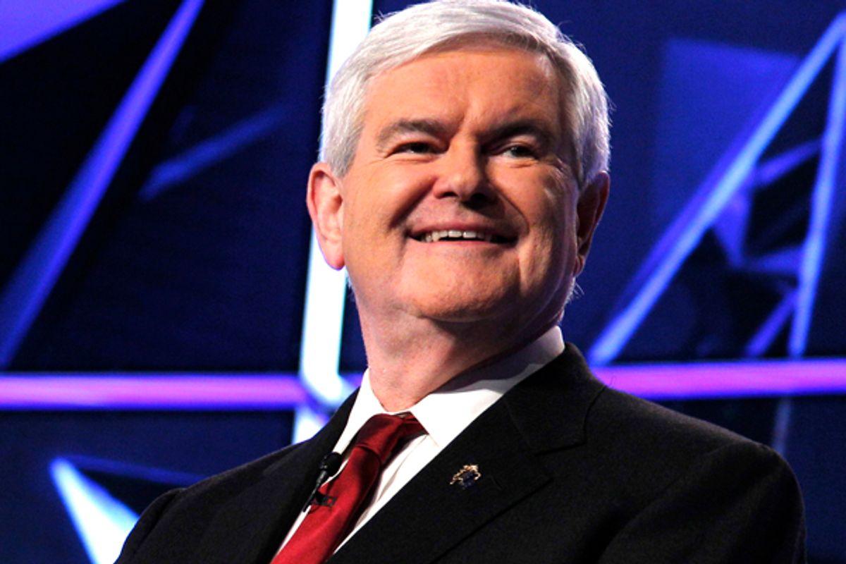 Former House Speaker Newt Gingrich (AP/Evan Vucci)