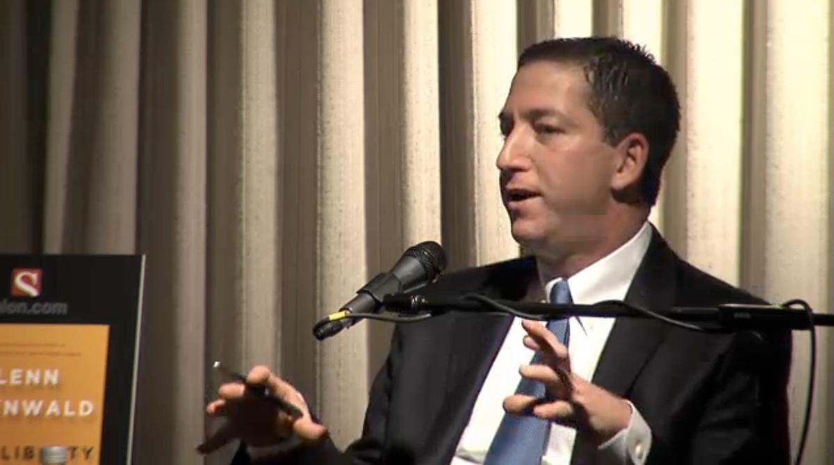 Salon's Glenn Greenwald               (Fora.TV)