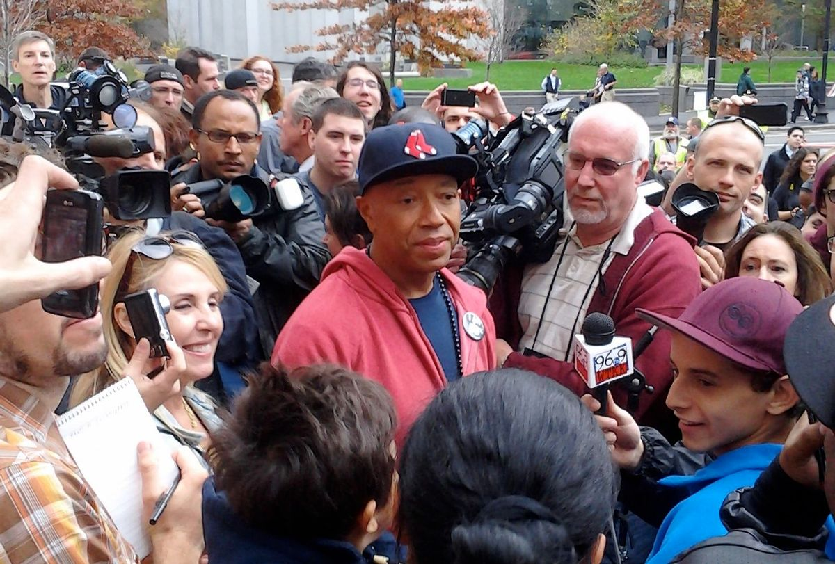 Russell Simmons at Occupy Boston