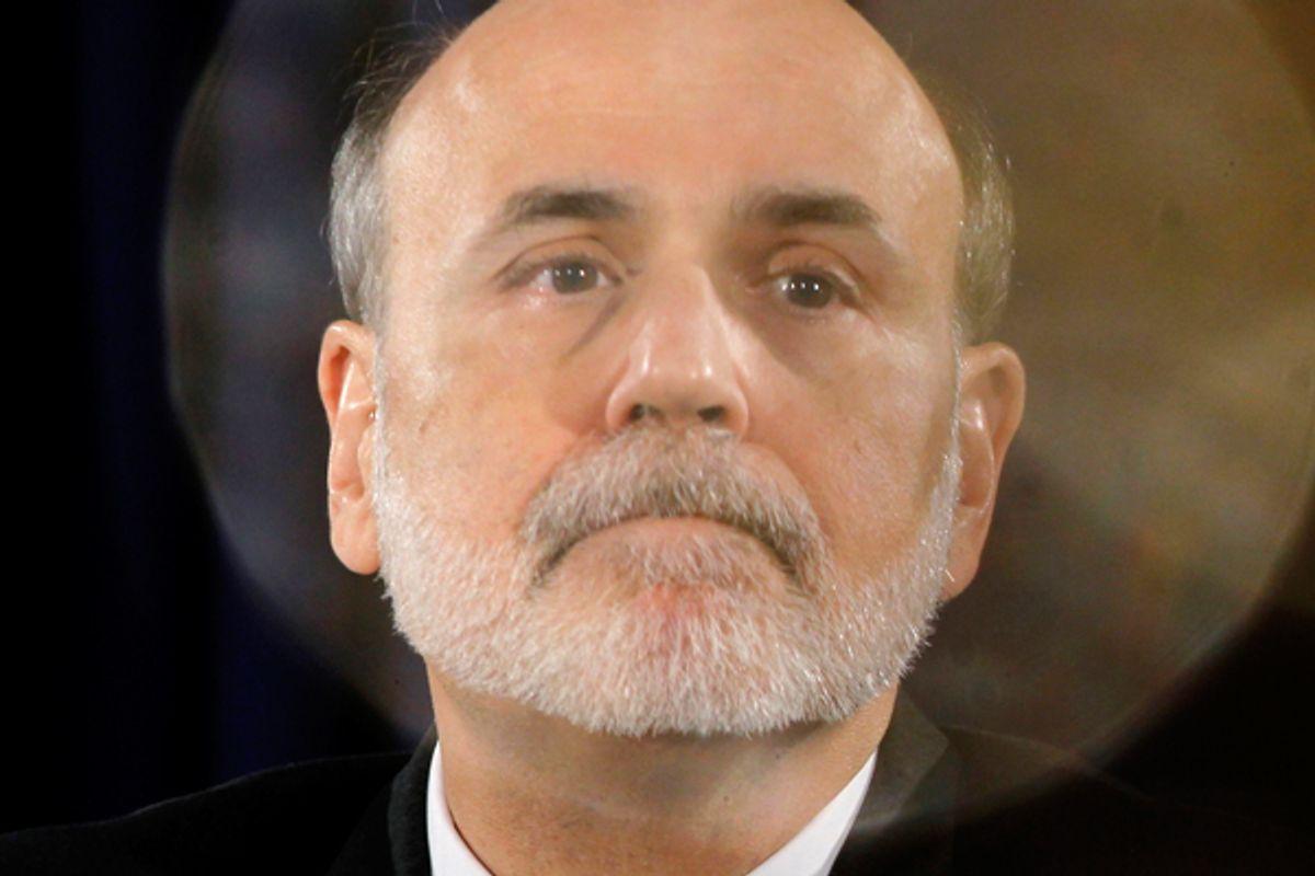 Ben Bernanke   (Reuters/Jason Reed)