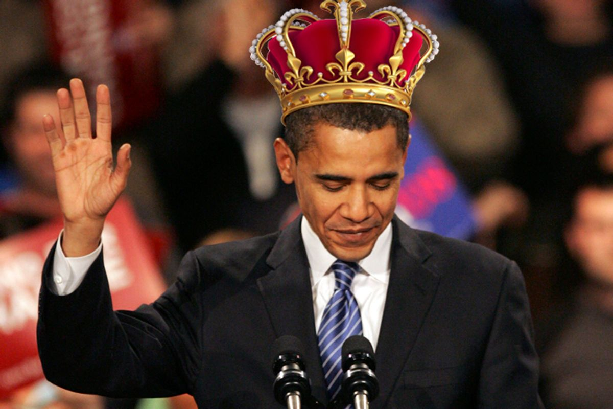 The president who sounds like a king (AP/Rick Bowmer/iStockphoto)