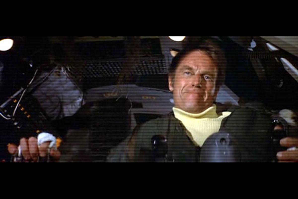 """Charlton Heston in """"Airport 1975""""   (disastermovieworld.com)"""