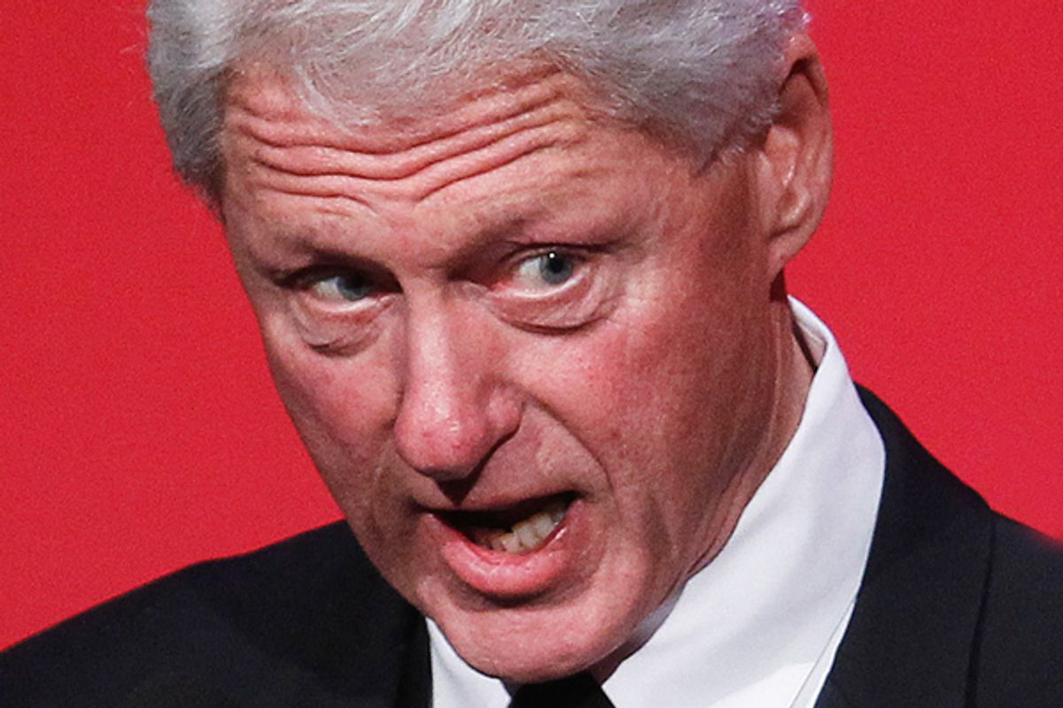 Bill Clinton  (Reuters/Lucas Jackson)