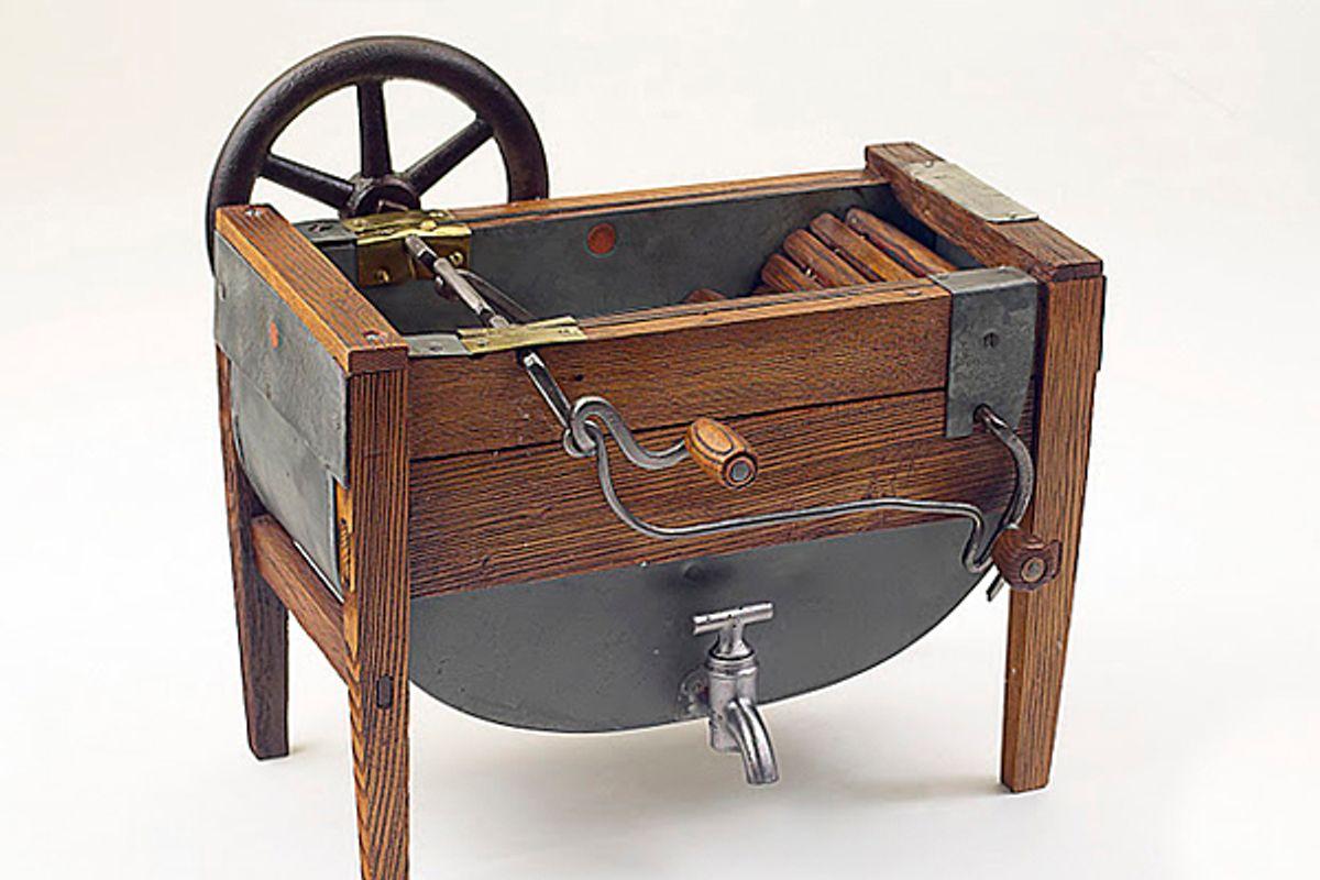 Washing Machine model, 1871. Inventor: Alfred T. Sullivan.   (Rothschild Patent Model Collection/Scherzi Photography)