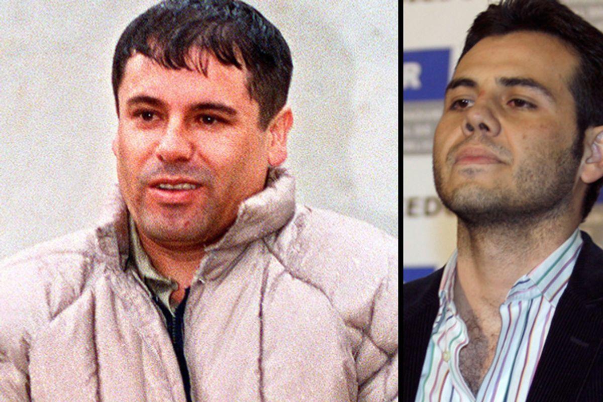 "Joaquin Guzman-Loera, aka ""El Chapo,"" and  Jesus Vicente Zambada Niebla       (AP/Reuters)"