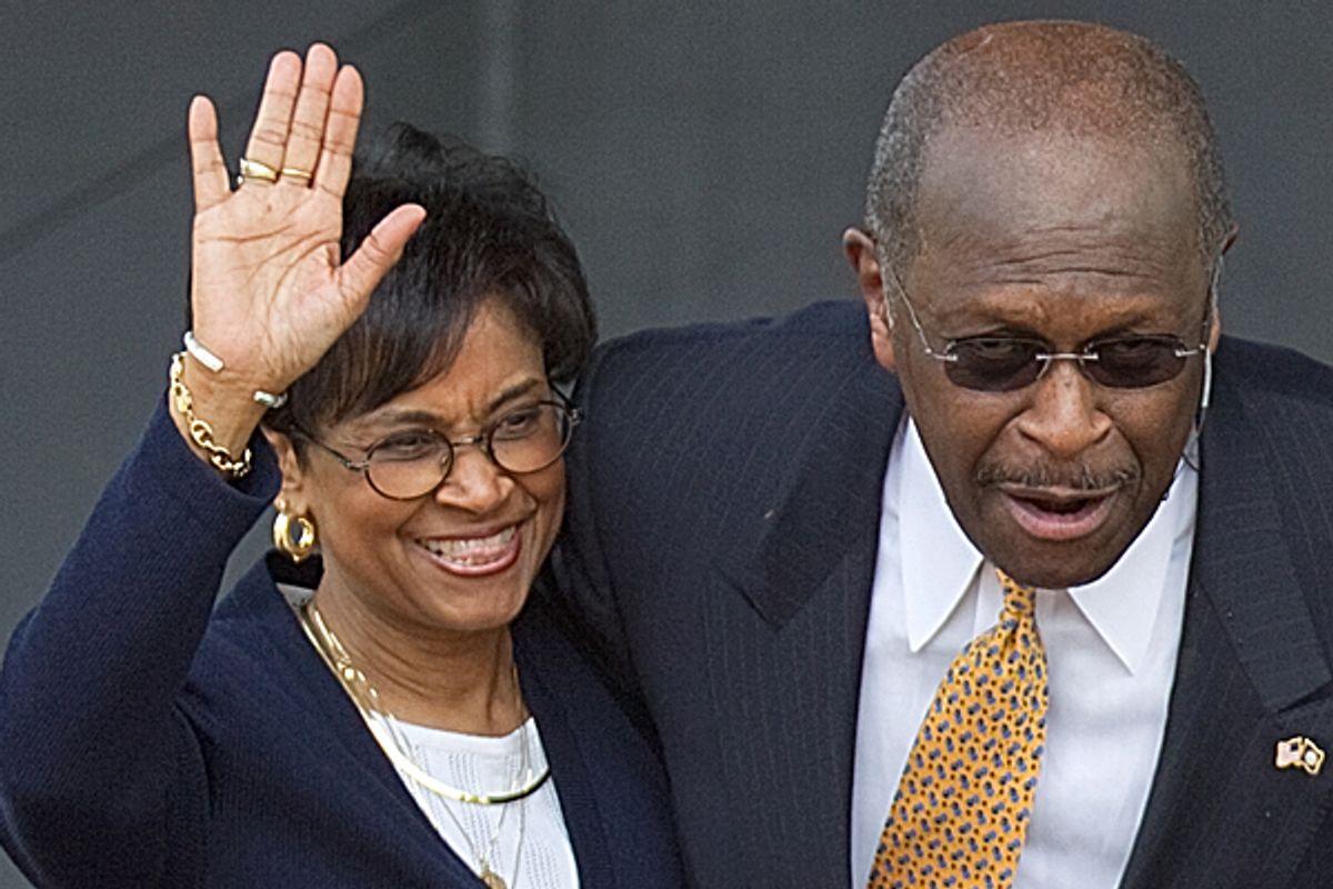 Gloria and Herman Cain       (AP)
