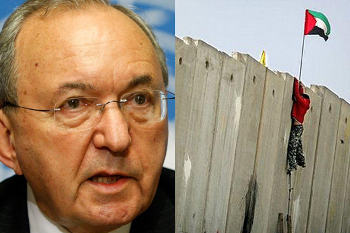 Richard Goldstone on Israel and apartheid (Reuters/Denis Balibouse/AP)