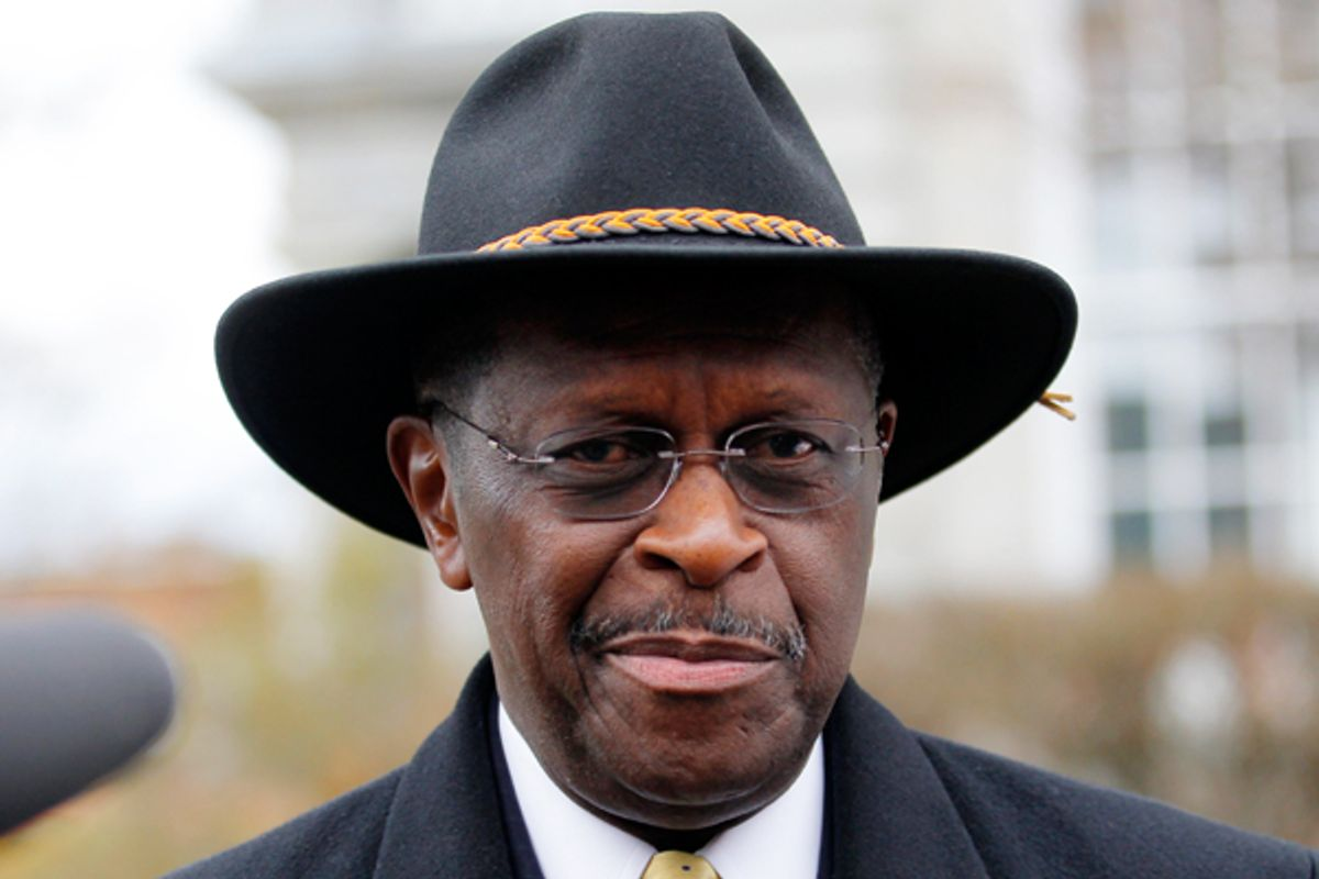 Herman Cain          (Reuters/Brian Snyder)