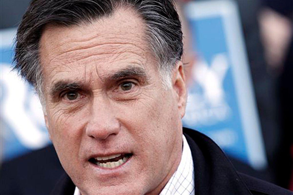 Mitt Romney       (AP/Winslow Townson)