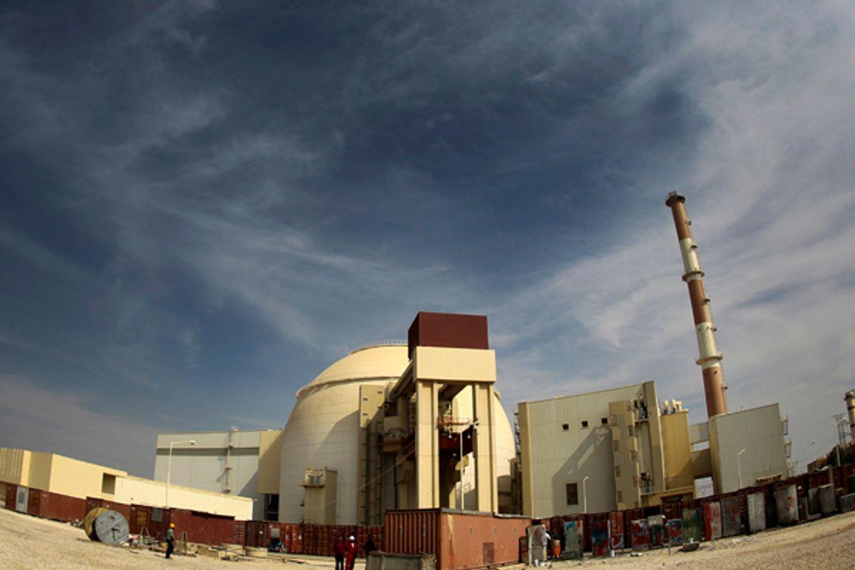 Iran's Bushehr nuclear power plant.   (Reuters)