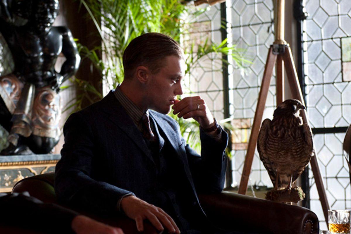 "Presumptive Atlantic City crime boss Jimmy Darmody (Michael Pitt) strikes a contemplative pose on ""Boardwalk Empire.""  (HBO)"