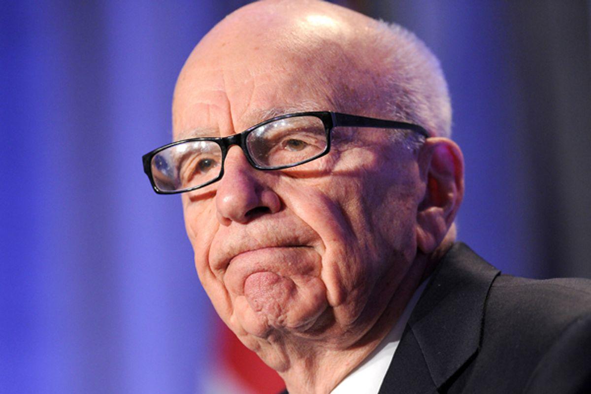 News Corp. CEO Rupert Murdoch    (AP/Noah Berger)