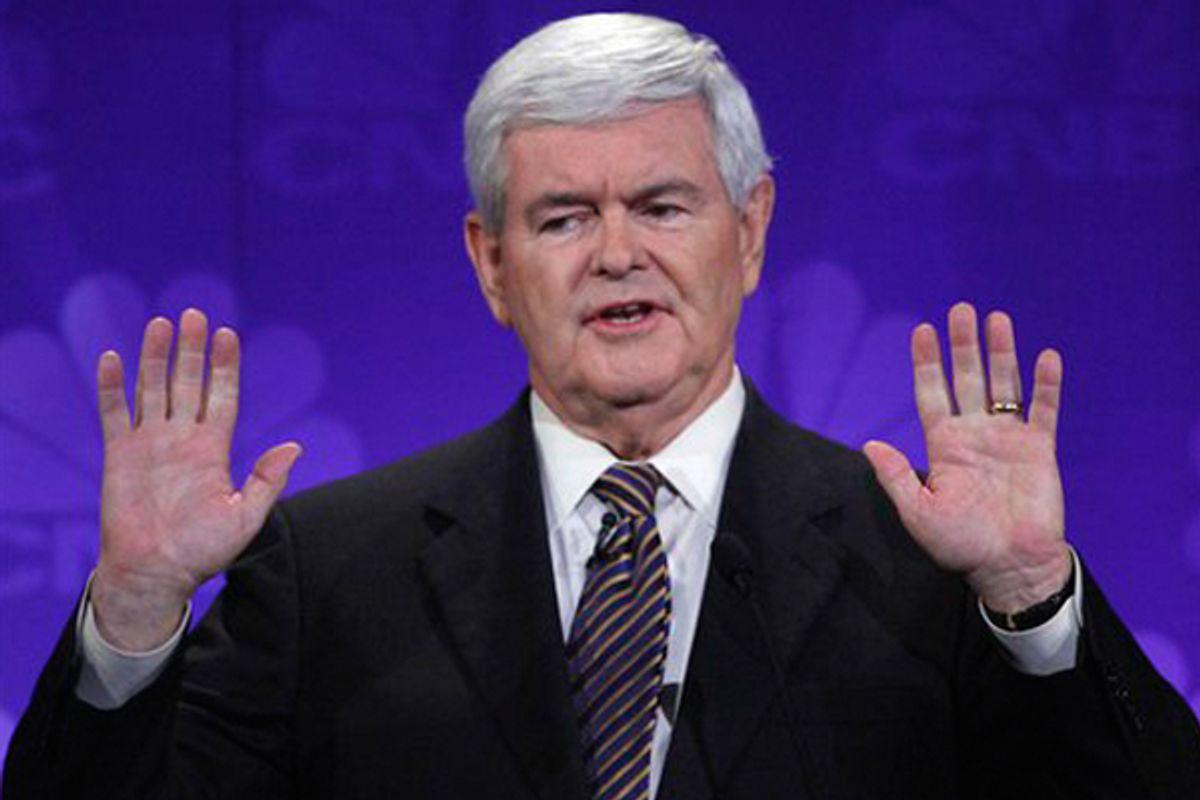 Newt Gingrich      (AP/Paul Sancya)