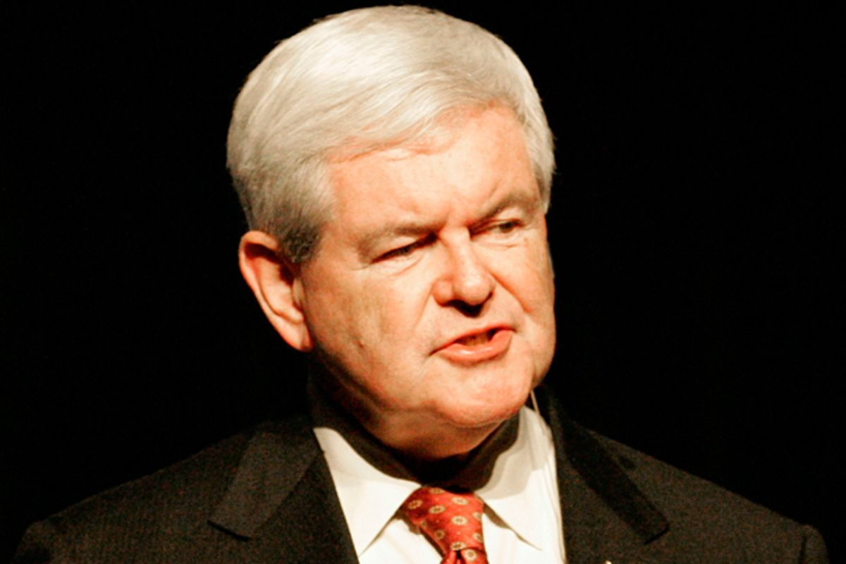 Newt Gingrich    (Reuters/Mary Chastain)